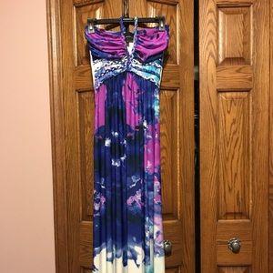 Cynthia Rowley Tie dye ombré maxi